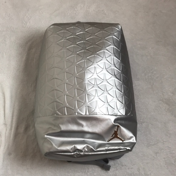 Jordan Other - Silver Jordan backpack gym bag